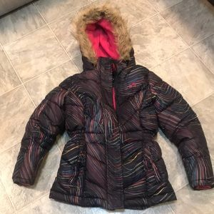 Girls Vertical 9 Winter Coat (7-8)